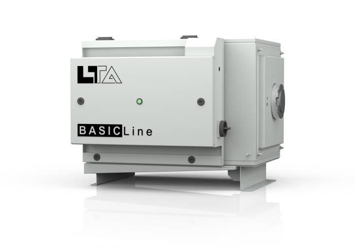 Der Öl- und Emulsionsnebelfilter LTA BASIC Line 01 bietet trotz seiner einfachen Ausführung volle Absaugleistung.