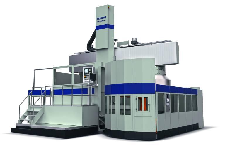 Schiess präsentiert auf der EMO erstmals die neue vertikale Hochleistungsdrehmaschine Ascaturn.