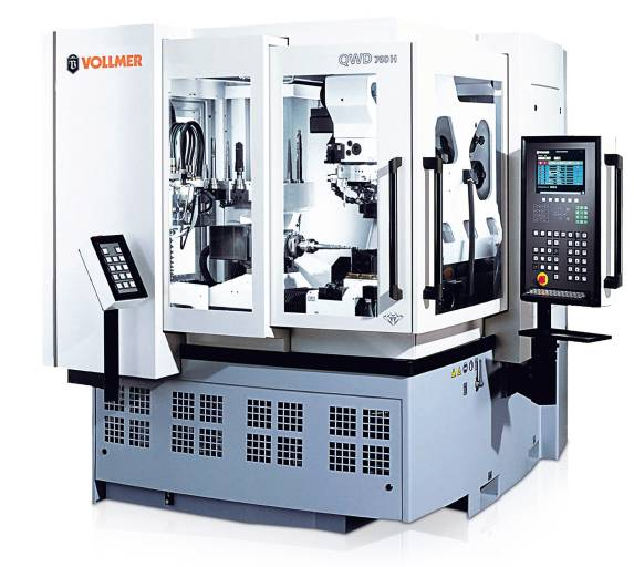 Die Vollmer Drahterodiermaschine QWD 760 H eignet sich insbesondere, um komplexe Werkzeuggeometrien berührungslos und präzise zu bearbeiten.