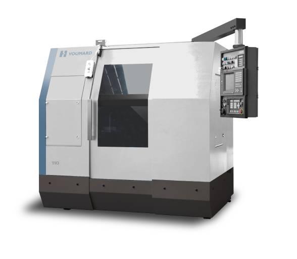 Die hochpräzise Innen- und Aussenrundschleifmaschine Voumard VM 110 ist universell einsetzbar im Bereich Einzelteil- und Serienfertigung für Werkstücke mit Innenschleifdurchmesser bis 150 mm.