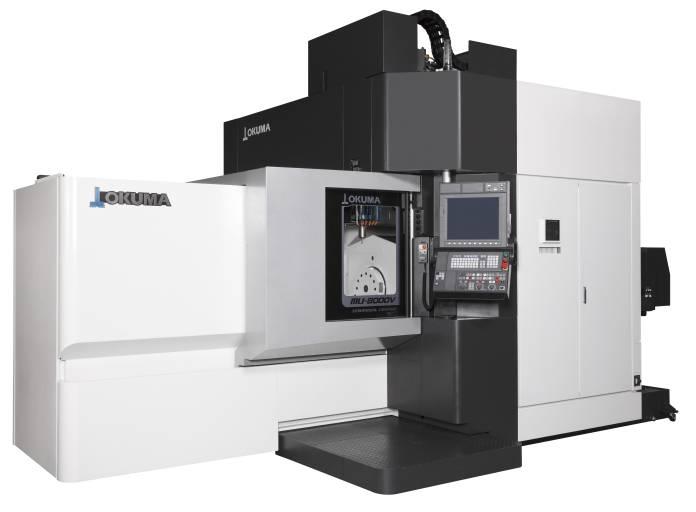 Das neue 5-Achsen Bearbeitungszentrum MU-8000V für hochpräzise und komplexe Werkstücke überzeugt durch seinen großen Arbeitsbereich, hohe Verfahrgeschwindigkeiten und Zerspanungsleistungen.