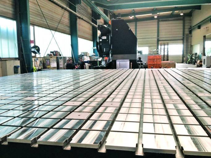 Der von framag entwickelte Werkstoff Hydropol® hat sich mittlerweile auch bei Plattenfeldern bewährt.
