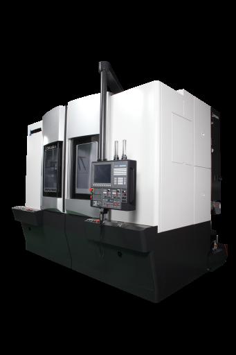 Okumas 2SP-V Baureihe wird für ihre massive Bauweise und ihre hohen Zerspanungsleistungen geschätzt. Auch die neueste Weiterentwicklung 2SP-V760EX beweist dass Kraft und Präzision kein Widerspruch sind.