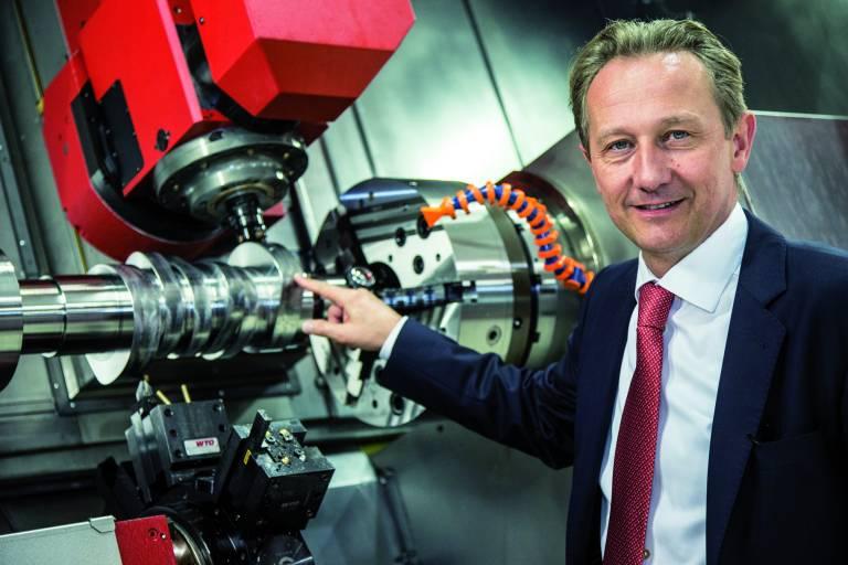 Dr. Stefan Hansch, Geschäftsführer EMCO MAIER GmbH