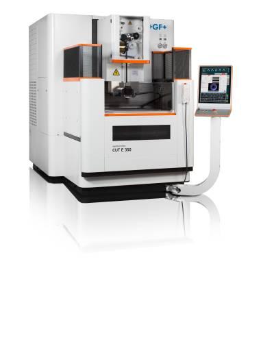 Die neuen AgieCharmilles CUT E 350/600 EDM Drahterodiermaschinen von GF Machining Solutions bieten dem Kunden eine höhere Effizienz und Präzision.