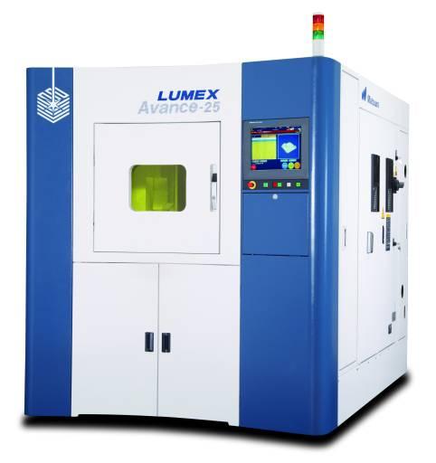 Die Hybrid Metall Laser Sinter- & Fräsmaschine LUMEX Avance-25 wurde auf der formnext powered by TCT in Frankfurt erstmals dem europäischen Publikum vorgestellt.