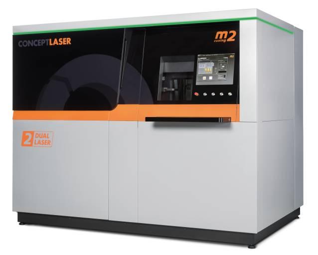 Das Maschinendesign der neuen M2 cusing Multilaser von Concept Laser unterstreicht nicht nur äußerlich die Weiterentwicklung der Anlagentechnik – sie ist auch mit einem neuen Filterkonzept ausgestattet. Dabei vergrößert sich die Filterfläche um den Faktor 5. Der wasserflutbare Filter gewährleistet darüber hinaus den sicheren Umgang beim Filterwechsel.
