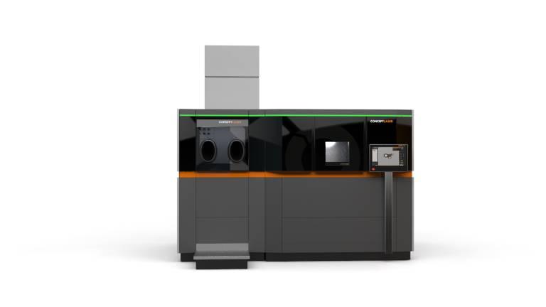 Smarte Produktion mit AM-Modulen von Concept Laser auf industriellem Niveau mit minimalem Footprint.