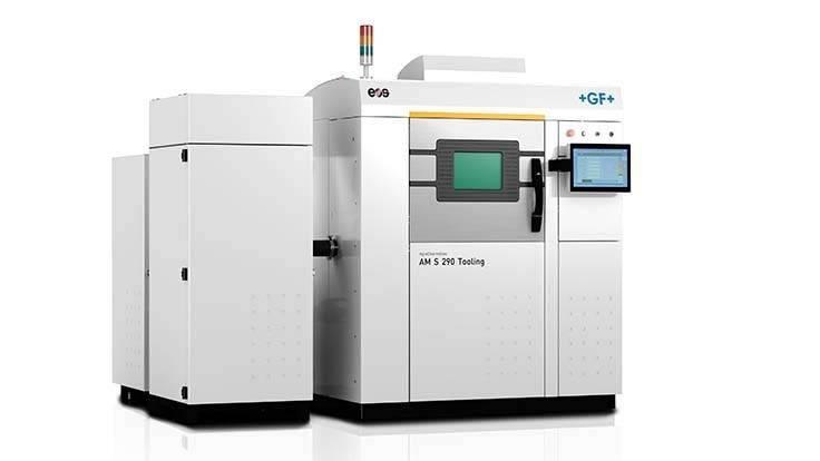 Eine Maschine für Additive Fertigung von GF Machining Solutions: Agie Charmilles AM S 290 Tooling.