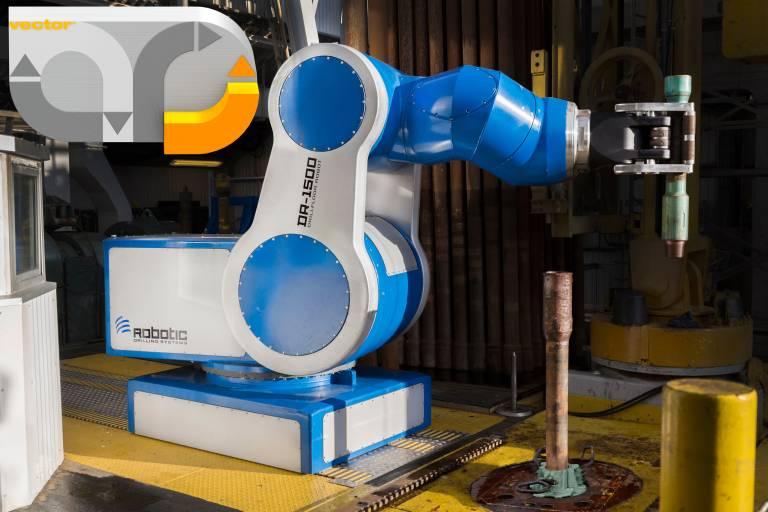 Gold für Ölbohrroboter: Im Innern der Gelenke sorgen Energieketten mit rückwärtigem Biegeradius auf minimalem Bauraum für eine Versorgung mit Energie, Daten und Medien.