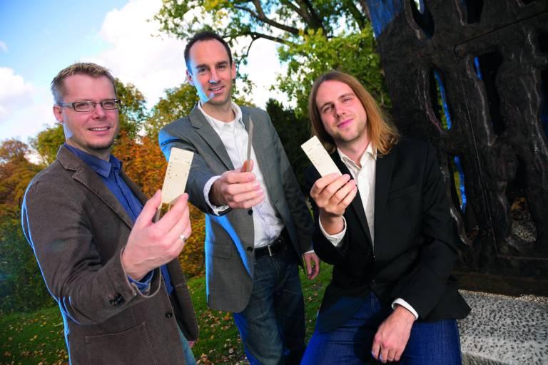 Die Eologix Sensor Technology GmbH wurde von Michael Moser, Thomas Schlegl und Hubert Zangl gegründet und startete 2013 als Projekt im Science Park Graz. Die Gründer entwickelten die flexiblen, drahtlosen Sensoren zur Eisdetektion.