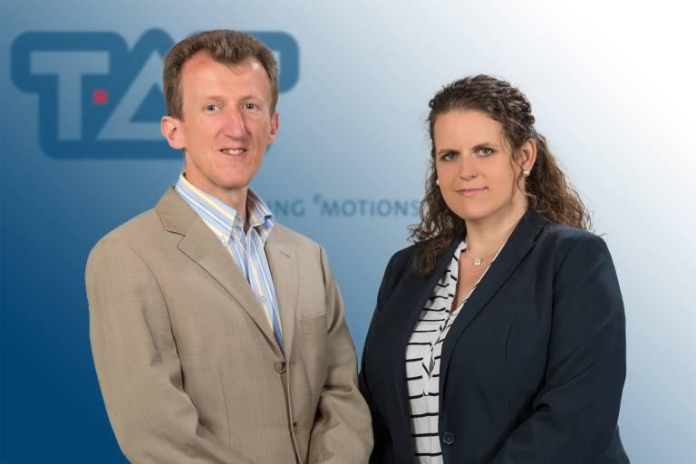 Neu im TAT-Team: Ing. Markus Srb und Katharina Resch. (Foto: TAT/WOLFstudios).