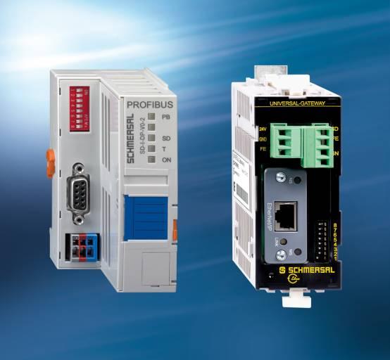 Sicherheitslösung für erhöhte Maschinenverfügbarkeit: SD-Interface Gateways können für die Übertragung nicht sicherer Daten eingesetzt werden.