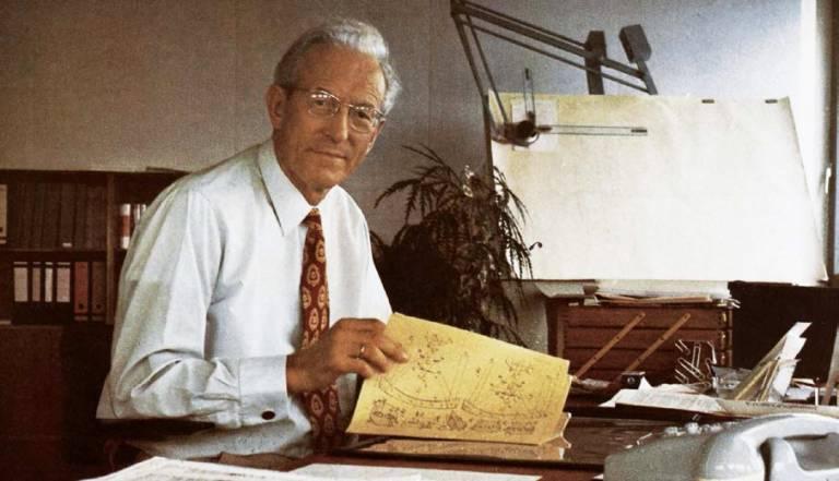 Dr. Ing. e.h.  Erwin Sick, seines Zeichens Erfinder aus Leidenschaft, Gründer der heutigen Sick AG.