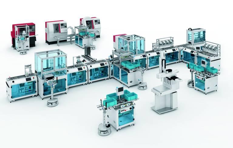 Die Trainingsmaschinen von Emco fügen sich nahtlos in die Lernfabriken-Welt von Festo Didactic ein.