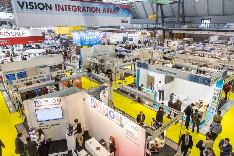 Im Mittelpunkt der VISION steht, welche Rolle die Bildverarbeitung im Zusammenhang mit Industrie 4.0 spielen kann.