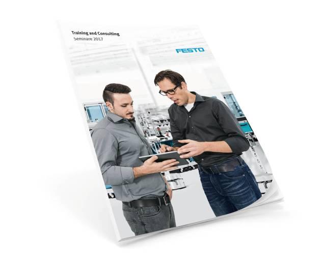 Ab sofort erhältlich in der Print- und der Onlineversion: der Seminarplan 2017 von Festo Training and Consulting.