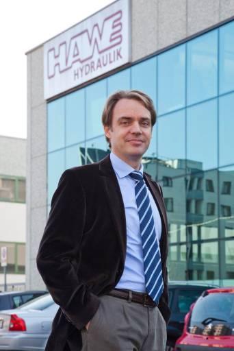 Udo Wolter, Geschäftsführer von Hawe Italiana und Hawe Österreich.