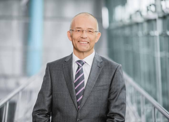 Dr. Claus Jessen, seit 1. Januar 2016 der neue Vorstandsvorsitzende der Festo AG.