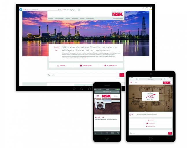 Neue Optik, verbesserter Product Finder und Responsive Webdesign.