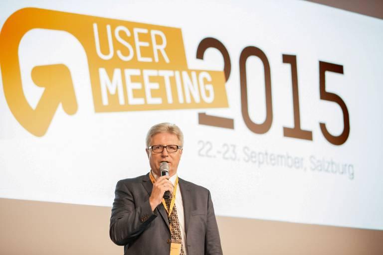 """""""Ausreichend Gelegenheit zum Netzwerken mit Fachexperten aus unterschiedlichen Branchen geben dem User Meeting seinen besonderen Charakter"""", sagt Hermann Obermair, General Manager Sales Region Austria B&R."""