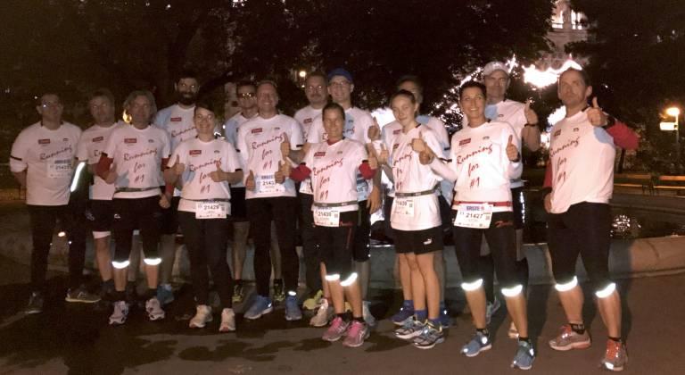 Das Danfoss Runningteam geht auch 2017 wieder an den Start, um etwas Gutes zu tun.