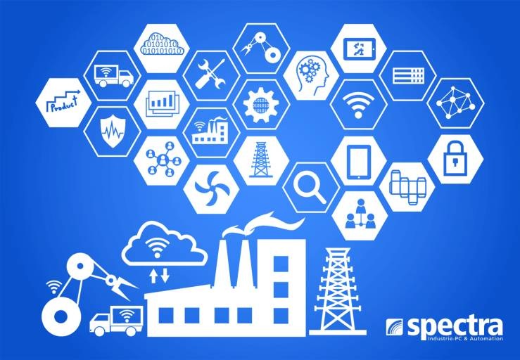 Spectra hat auf der diesjährigen SPS IPC Drives eine Umfrage zum Thema IIoT & Industrie 4.0 gestartet. Ca. 60 % der Befragten beschäftigen sich schon aktiv mit dem Thema oder haben es in nächster Zukunft auf der Agenda.