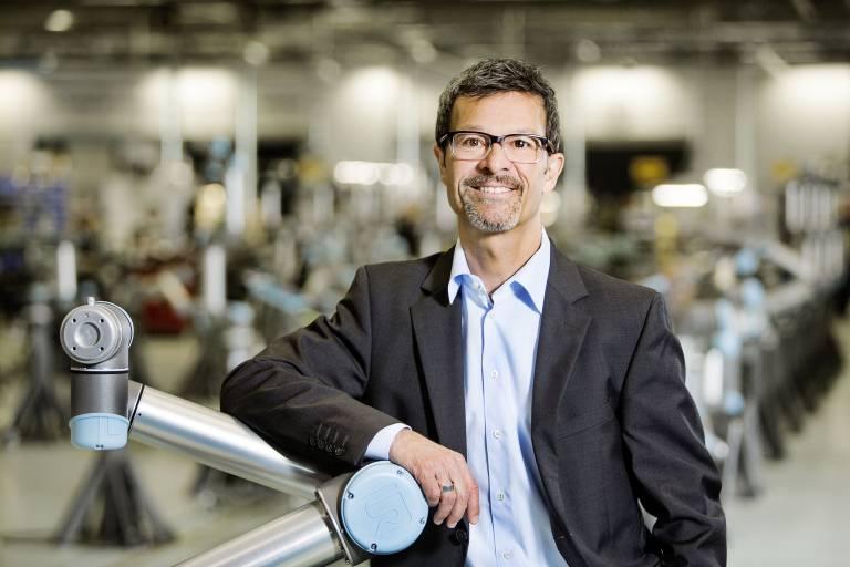 Helmut Schmid, General Manager Central Europe bei Universal Robots.