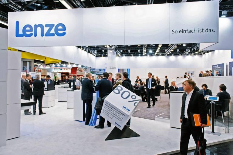 Konkrete Industrie 4.0 Lösungen zeigt Lenze auf der Hannover Messe 2016.