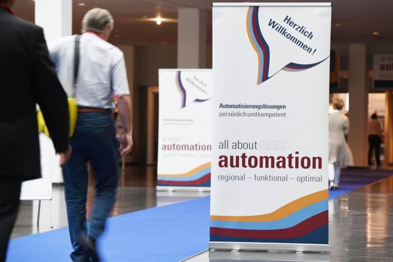Die all about automation findet in der Halle A2 der Messe Friedrichshafen statt und ist am 07. Juni von 9 bis 17 Uhr und am 08. Juni von 9 bis 16 Uhr geöffnet.