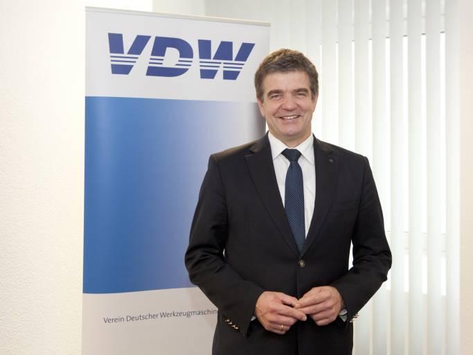 Dr. Heinz-Jürgen Prokop aus dem Hause Trumpf ist seit 1. Jänner 2016 neuer Vorsitzender des VDW und des Fachverbands Werkzeugmaschinen und Fertigungssysteme im VDMA. (Bild: VDW).