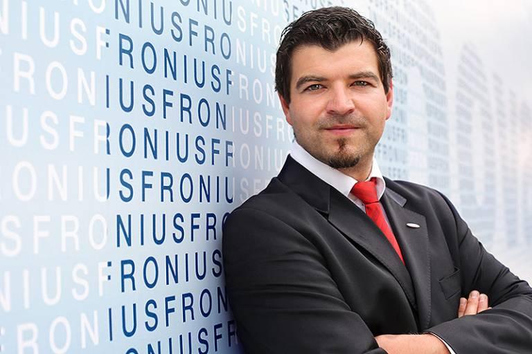 Harald Scherleitner ist neuer Spartenleiter Perfect Welding bei Fronius International. (Foto: Fronius International)