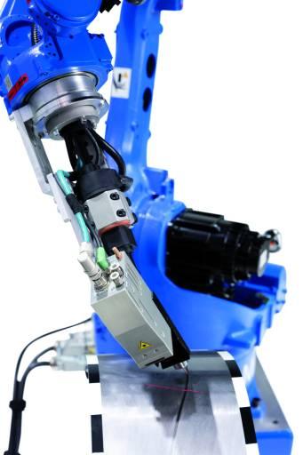 Das MotoSense Kamera-System von Yaskawa ermöglicht wirtschaftliche und hochpräzise, adaptive Schweißapplikationen durch Roboter. (Bild: Yaskawa)