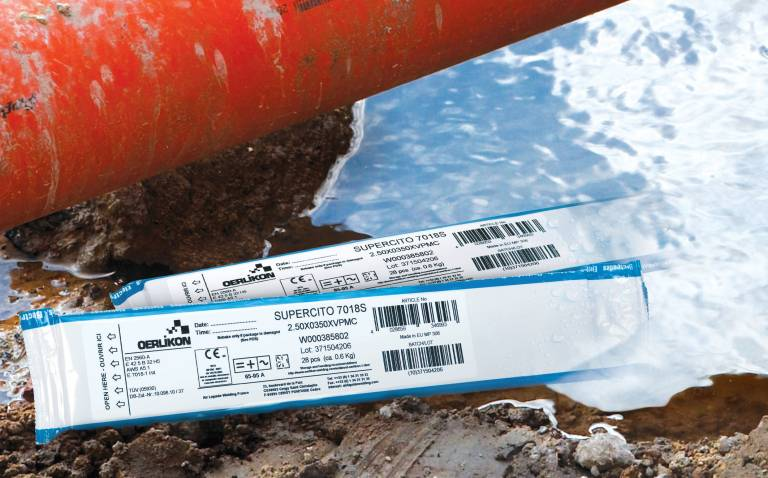 Das Schweißen mit trockenen, basisch umhüllten, wasserdicht vakuumverpackten Elektroden Dry Pack bildet die Voraussetzung für Qualität und Wirtschaftlichkeit.
