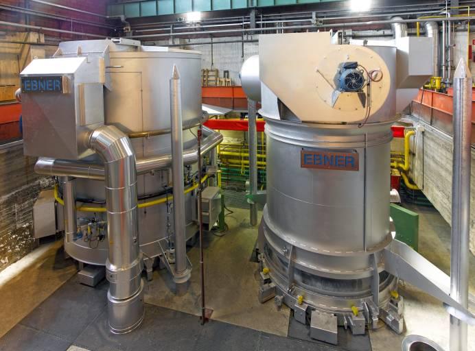 Ebner baut Industrieöfen für die Stahl-, Aluminium- und Buntmetallindustrie.