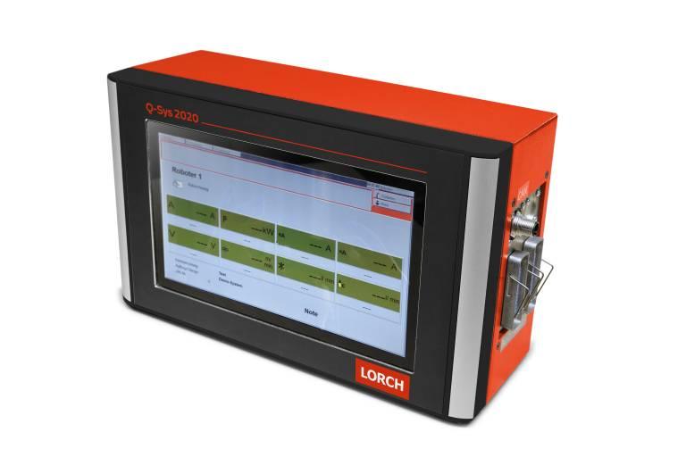 Schweißdaten-Überwachungssystem Lorch Q-Sys 2020.