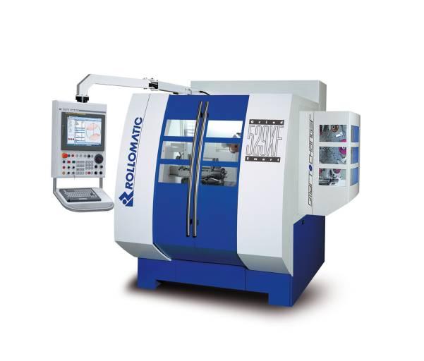 Das neue 6-Achsen-Schleifzentrum GrindSmart® 529XF mit integriertem 3D-Simulationsmodul schleift Bohrer mit einer Schneidlänge bis 300 mm und Durchmessern von 0,2 bis 12 mm und mit einem Durchmesser-Längen-Verhältnis bis 200xD.