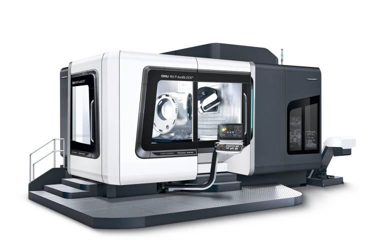 Als größtes Modell der Baureihe präsentiert DMG MORI nun auch die DMU 160 P duoBLOCK® mit den Verbesserungen der vierten duoBLOCK®-Generation.