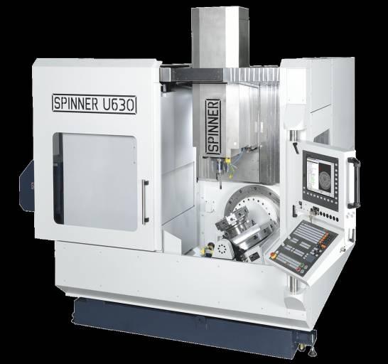 Schachermayer präsentiert auf der Intertool u. a. das Universal-Bearbeitungszentrum U630 Advanced der Spinner Werkzeugmaschinenfabrik GmbH.