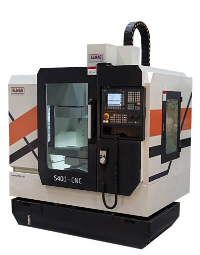 Das CNC-Bearbeitungszentrum S400 ist eines der Highlights auf dem Elmag-Stand.