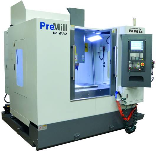 Die PRE MILL VL 610 – eine der Neumaschinen im Sortiment von MMD.