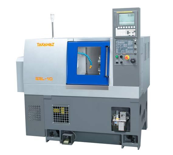 Um EUR 33.600,- kann die 2-Achsen CNC-Drehmaschine ESL-10 von Takamaz ab Mai bei Wamatec über das Internet bestellt werden.