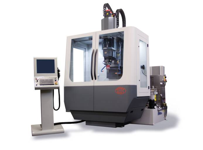 Schirnhofer präsentiert mit Moore Tools auf der Intertool einen Traditionshersteller im Bereich Koordinatenschleifen. Die neu entwickelte Serie 500 bietet geometrische Genauigkeiten im µm-Bereich und eine sichere Prozesswiederholbarkeit.