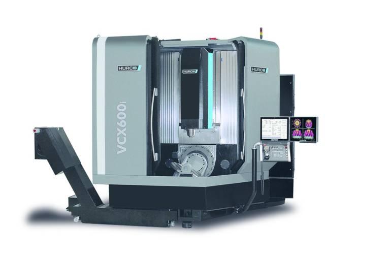 Das neue CNC 5-Achs-Bearbeitungszentrum VCX 600i von Hurco ermöglicht eine zuverlässige Bearbeitung großer Präzisionsteile mit komplexen Konturen.