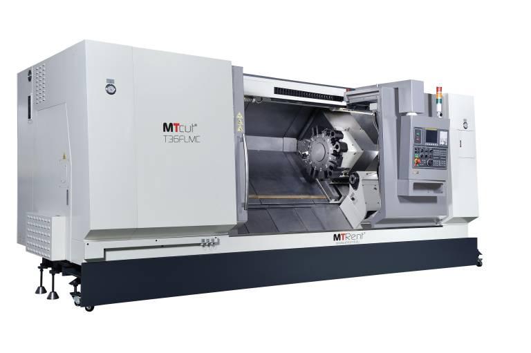 Die MTcut T36FLMC bietet einen Stangendurchlass von 91 mm und eine Drehlängen bis 1997 mm.