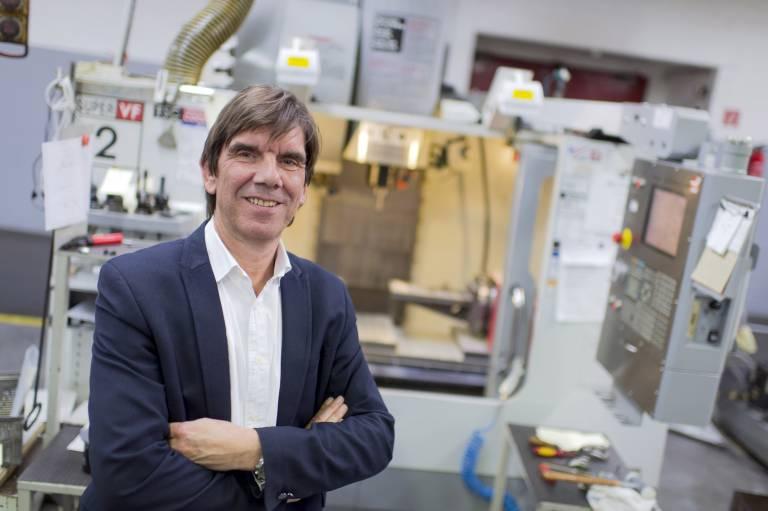 Frank-Michael Kuhnt, Konzernleitung Produktion, Vertrieb und Logistik.