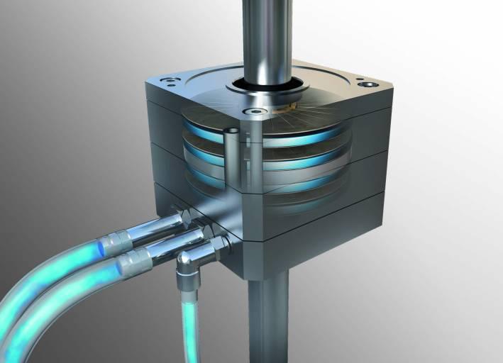 Das mit Druckluft betriebene Klemmsystem PClamp zeichnet sich durch seine hohe Klemm- und Haltekraft aus.