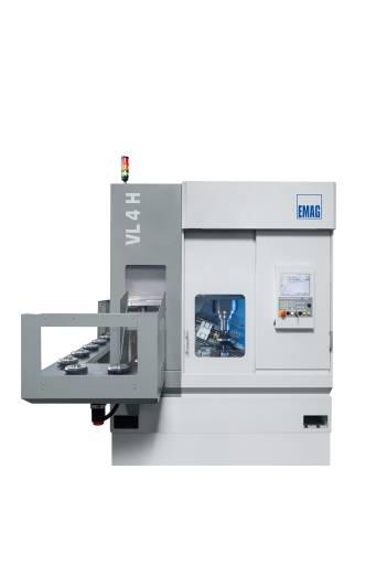 VL 4 H – vertikale Pick-up-Wälzfräsmaschine lässt sich auf eine große Anzahl von Anwendungen konfigurieren.