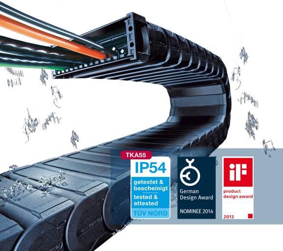 Die durchdachte Konstruktion und die vielfältigen Leistungsmerkmale der TKA55 wurden mit dem iF product design award des Industrieforum Design ausgezeichnet.