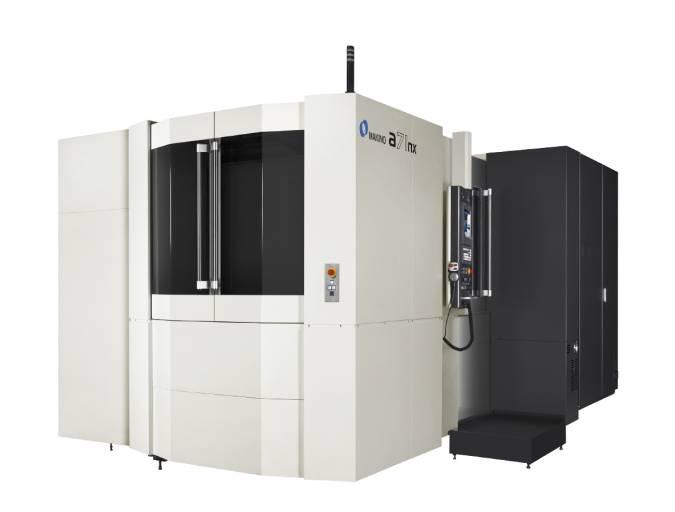 Die steife Gussstruktur und Achsauslegung der ersten a1nx-Plattform ist mit der neuen a71nx um eine Reihe von technologischen Neuerungen erweitert worden, zu denen ein höheres Spindel-Drehmoment, die neueste Innovation an Motion-Control-Systemen und die neue Steuerung PRO 6 gehören.